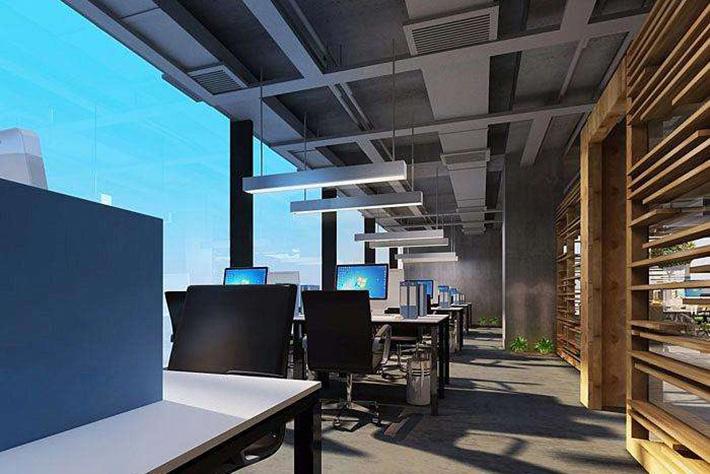 常熟市办公室装修设计中地砖与地毯的不同之处