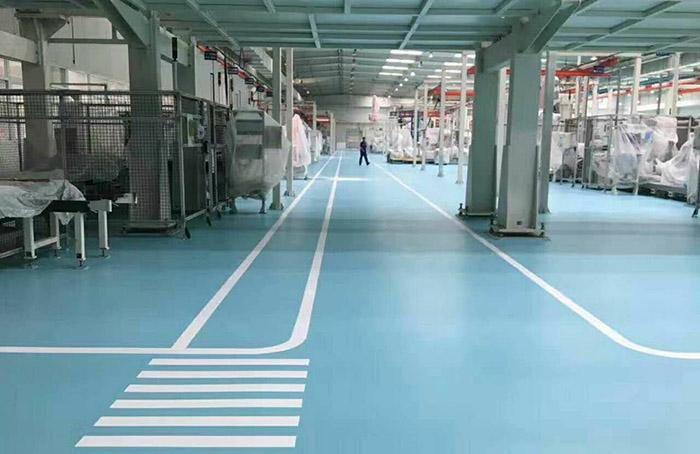 苏州常熟市厂房装修中地面常用的材料有哪些?